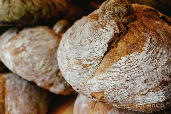 Photograph - Mediterranean Traditional Handmade Round Breads by Joaquin Corbalan