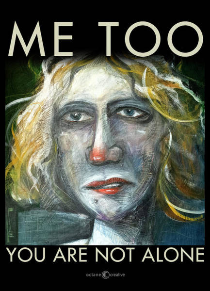 Painting - Me Too Poster by Tim Nyberg
