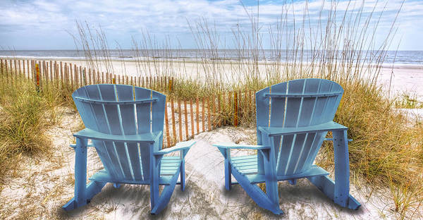 Photograph - Meet Me At The Dunes Panorama by Debra and Dave Vanderlaan