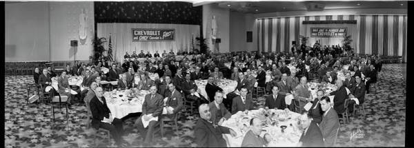Wall Art - Photograph - Meeting Of Chevrolet Executives, 1948 by Fred Schutz Collection