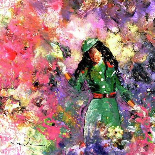Painting - Meghan Markle Sparkles by Miki De Goodaboom
