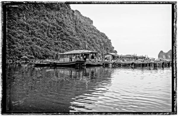 Wall Art - Photograph - Halong Bay's Floating Market, Vietnam by Madeline Ellis