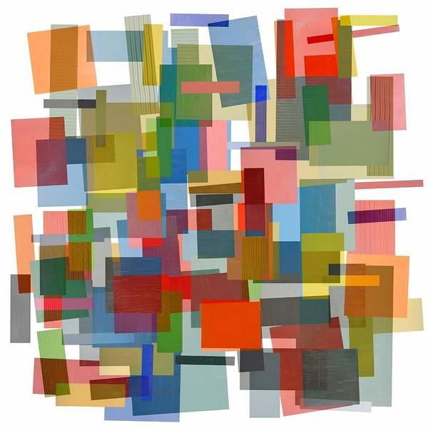 Design Digital Art - Melange 5.0 by Michelle Calkins