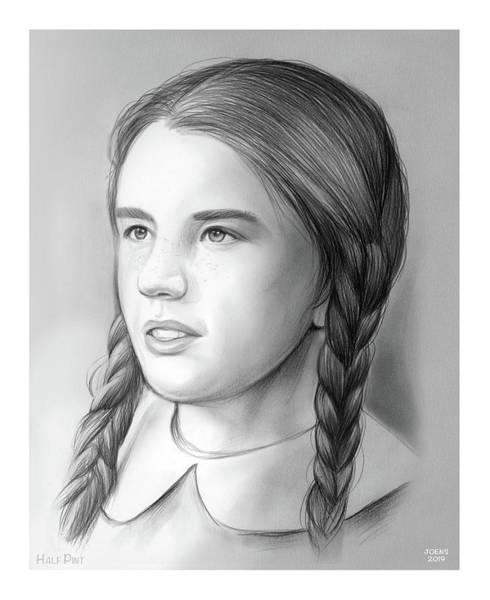 Television Drawing - Melissa Gilbert by Greg Joens