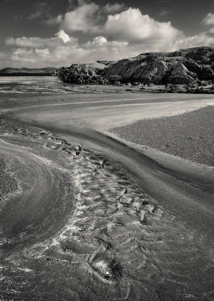 Wall Art - Photograph - Mellangaum Sand Tracks by Dave Bowman