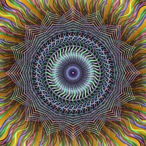 Digital Art - Mellow Chromatic by Becky Titus