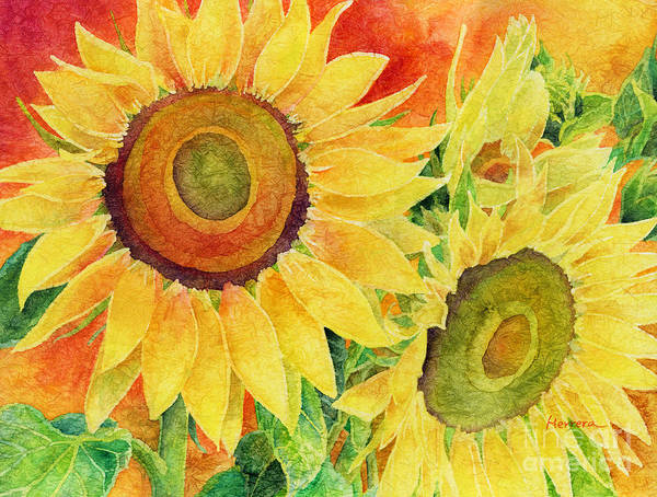 Blooming Painting - Mellow Yellow by Hailey E Herrera