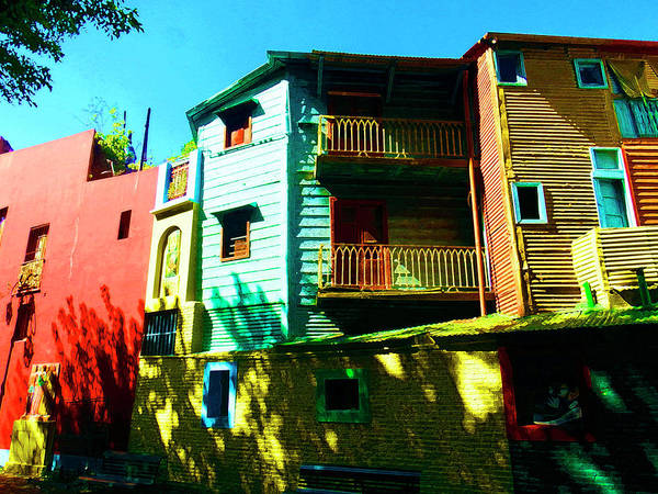 Photograph - Mellow Yellow, La Boca, Buenos Aires by Kurt Van Wagner