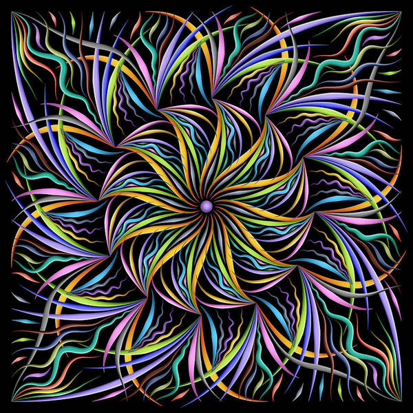 Digital Art - Melodious Twist by Becky Titus