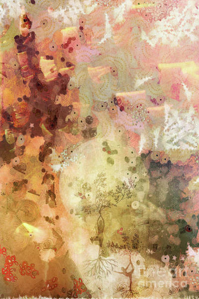 Spiritual Mixed Media - Melody by Jacky Gerritsen