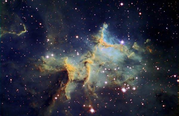 Satellite Image Wall Art - Photograph - Melotte 15 by Stocktrek Images