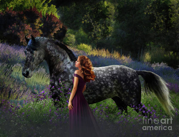 Digital Art - Mel's Dream by Melinda Hughes-Berland