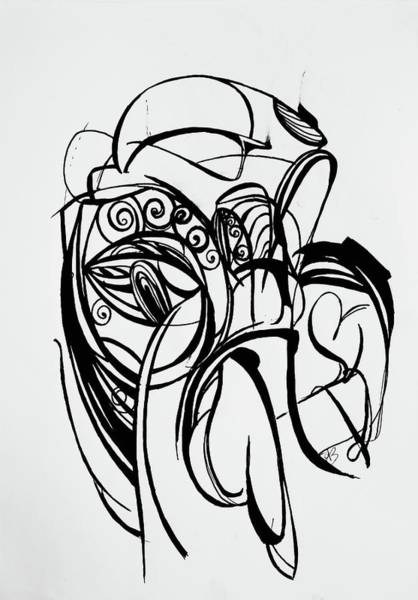 Wall Art - Drawing - Melt by Autumn Bear