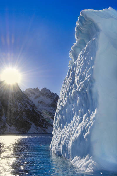Wall Art - Photograph - Melting Iceberg by Mint Images