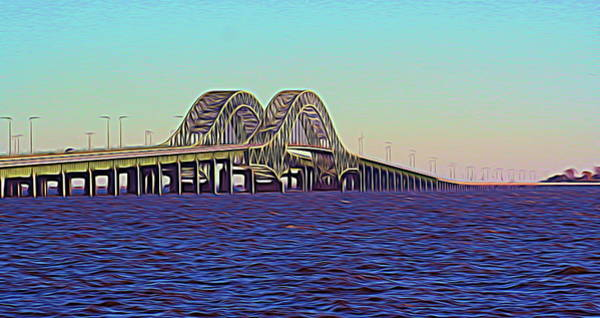 Photograph - Melting Robert Moses Causeway by Karen Silvestri