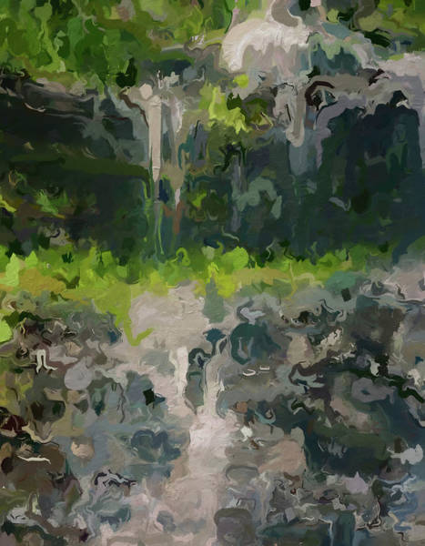 Painting - Melting Waterfall by Dan Sproul
