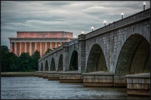 Photograph - Memorial Bridge by Erika Fawcett