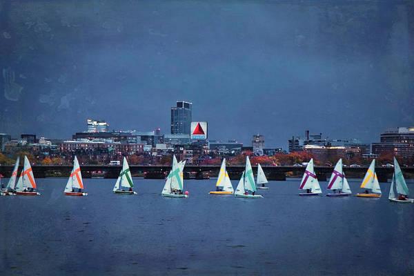 Photograph - Memorial Drive - Charles River - Boston, Ma by Joann Vitali