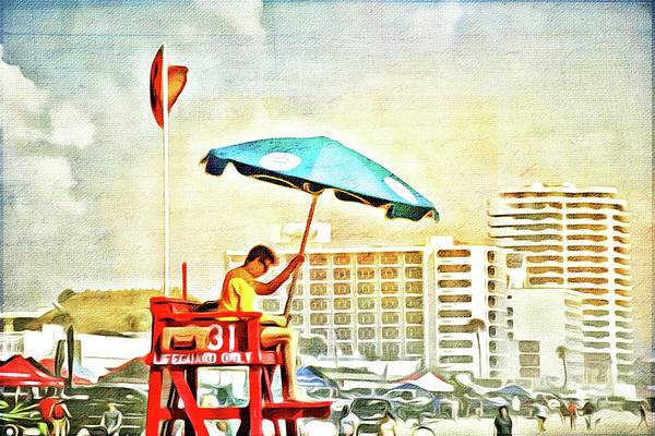 Photograph - Memories From Daytona Beach by Alice Gipson