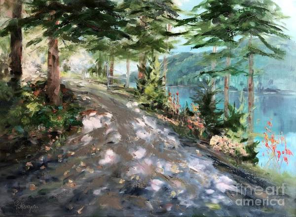 Painting - Memories Of The Cabin Drive by Lori Pittenger