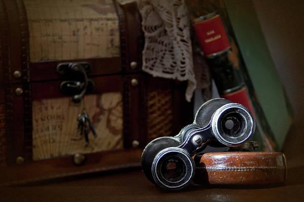 Binoculars Photograph - Memories Of Times Past by © Julieta Zubiri Fotografía - Julietazubiri@gmail.com