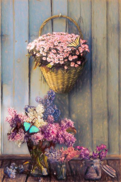 Photograph - Memories Of You Painting by Debra and Dave Vanderlaan