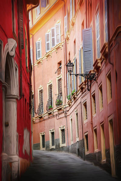 Street Scene Photograph - Memory Lane Verona by Carol Japp
