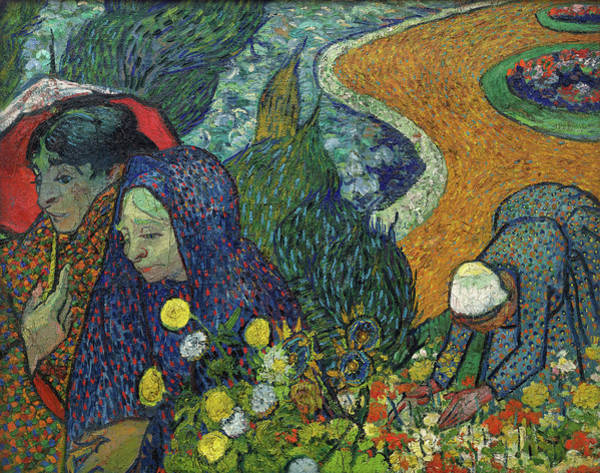 Potato Painting - Memory Of The Garden At Etten, 1888 by Vincent Van Gogh