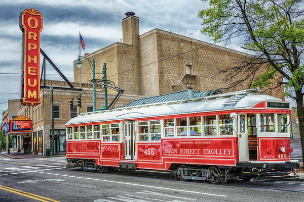 Photograph - Memphis Main Street Trolley by Susan Rissi Tregoning
