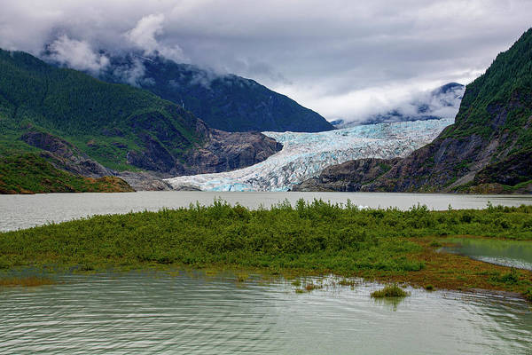 Photograph - Mendenhal Glacier by Anthony Jones