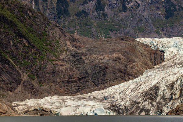 Wall Art - Photograph - Mendenhall Glacier by Bill Gallagher