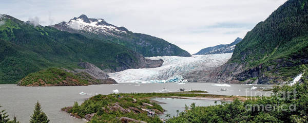 Wall Art - Photograph - Mendenhall Glacier  by Jim Chamberlain