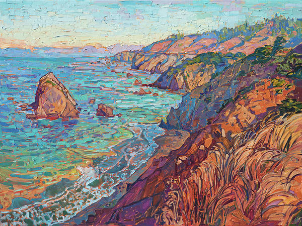 Wall Art - Painting - Mendocino Color by Erin Hanson