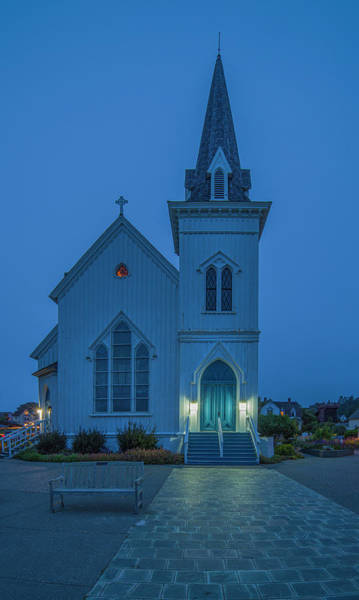 Photograph - Mendocino Presbyterian Church by Jonathan Hansen