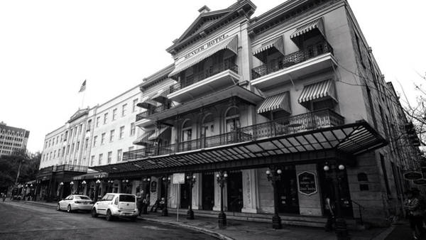 Photograph - Menger Hotel by George Taylor