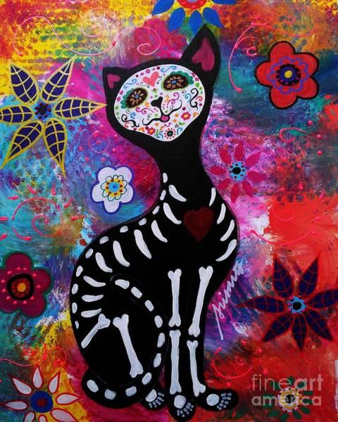 Painting - Meow by Pristine Cartera Turkus