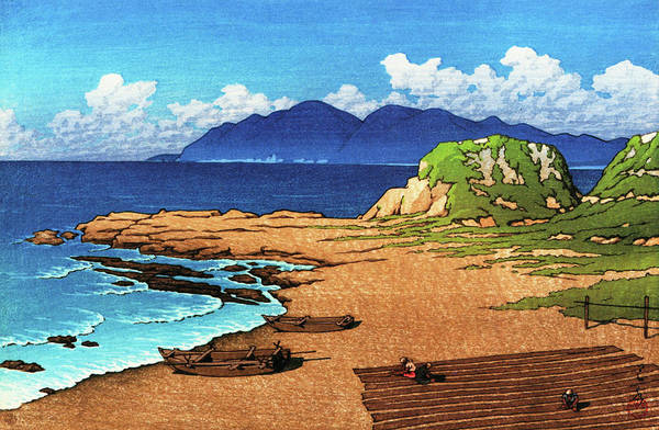 Wall Art - Painting - Mera In Boshu - Digital Remastered Edition by Kawase Hasui