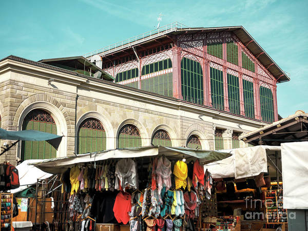 Photograph - Mercato Centrale Days In Florence by John Rizzuto