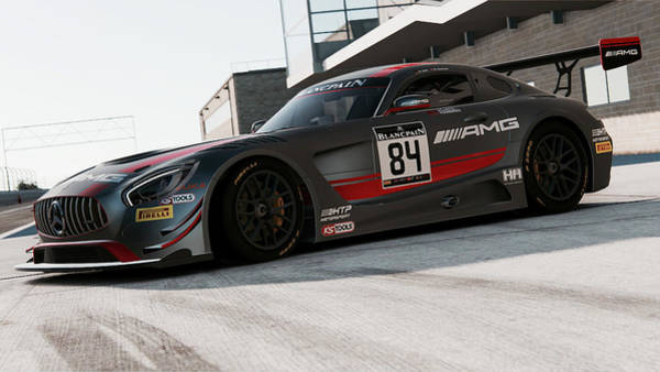 Photograph - Mercedes Amg Gt3 - 46 by Andrea Mazzocchetti
