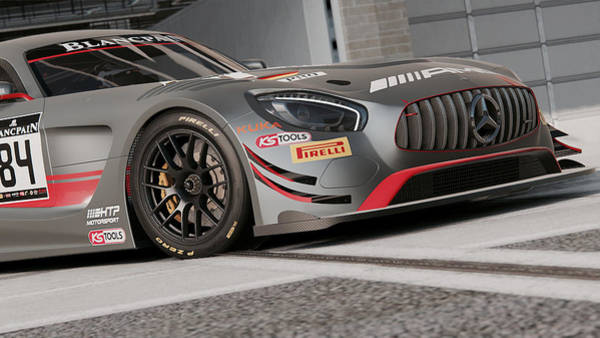 Photograph - Mercedes Amg Gt3 - 48 by Andrea Mazzocchetti