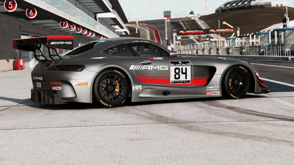 Photograph - Mercedes Amg Gt3 - 49 by Andrea Mazzocchetti