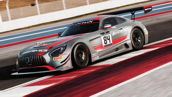 Photograph - Mercedes Amg Gt3 - 51 by Andrea Mazzocchetti