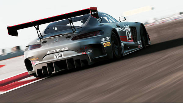 Photograph - Mercedes Amg Gt3 - 54 by Andrea Mazzocchetti