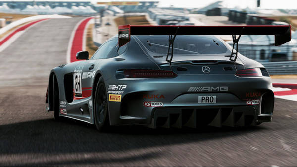 Photograph - Mercedes Amg Gt3 - 55 by Andrea Mazzocchetti