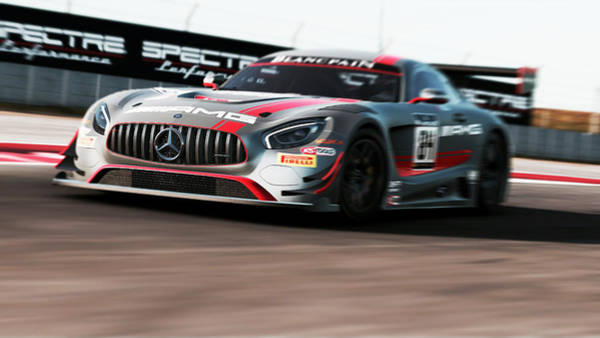 Photograph - Mercedes Amg Gt3 - 56 by Andrea Mazzocchetti