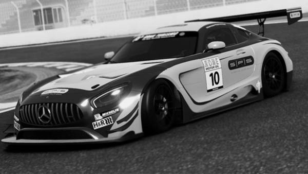 Photograph - Mercedes Amg Gt3 - 57 by Andrea Mazzocchetti