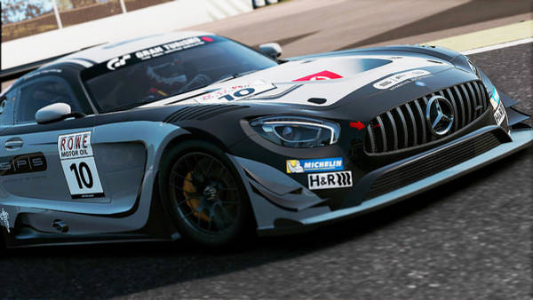 Photograph - Mercedes Amg Gt3 - 59 by Andrea Mazzocchetti