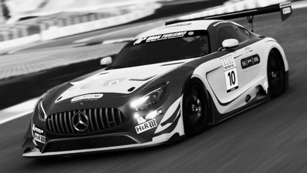 Photograph - Mercedes Amg Gt3 - 63 by Andrea Mazzocchetti