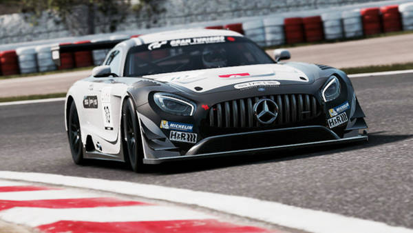 Photograph - Mercedes Amg Gt3 - 66 by Andrea Mazzocchetti