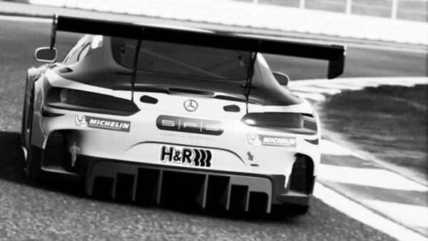 Photograph - Mercedes Amg Gt3 - 69 by Andrea Mazzocchetti